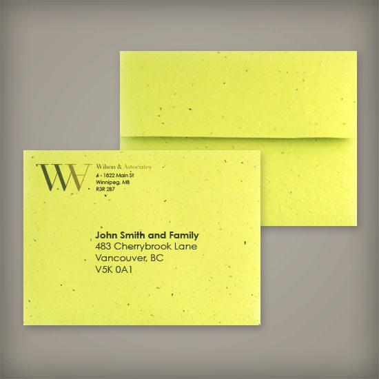 Seed Paper envelope