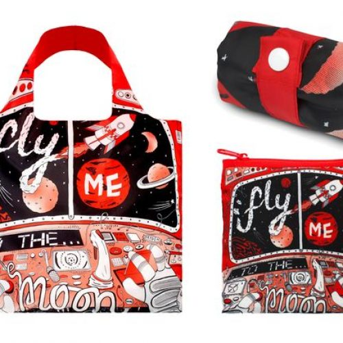 Loqi Bag Fly me to the Moon