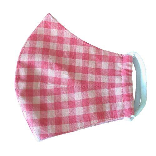 pinkchecks mask
